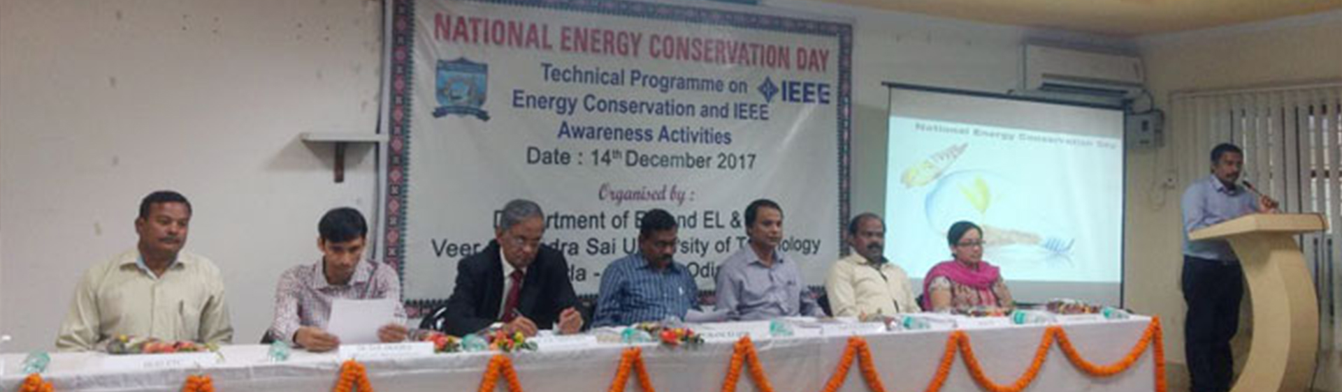 National Energy Conservation Day was Celebrated at VSSUT