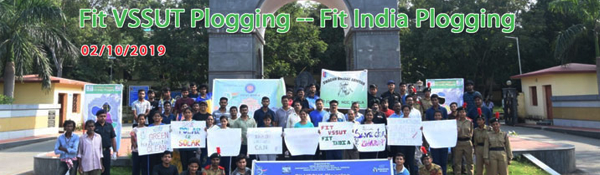 Fit VSSUT Plogging - - Fit India