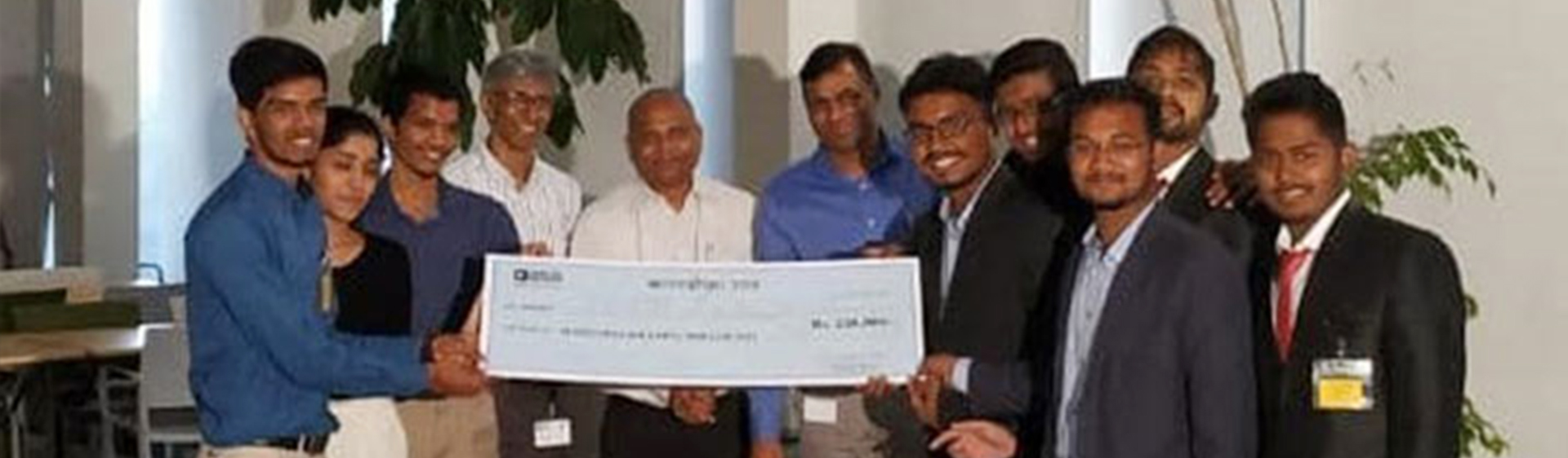 Grand Winner of Anveshan 2018 Make For India Innovation  by Analog Device Inc  at Bangalore on 6 August 2018