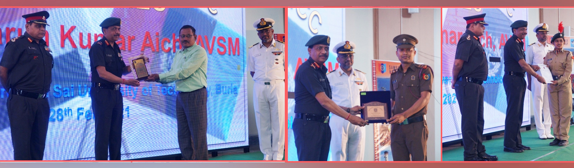 Cdt Payal Sahu and Lt. Birendra Kumar Barik has been awarded DG Commendation Card & DG Plaque respectively by the Director General of NCC Lt. General Tarun Kumar Aich, AVSM for the most sincere, dedicated and exemplary performance in NCC.